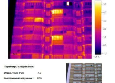 Проект обследование коттеджа на теплопотери в Московской области тепловизором - фото 20