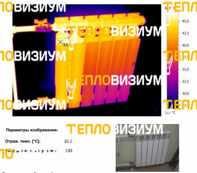Проверка радиаторов в двухкомнатной квартире Московской области - фото 2