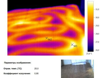 Проект обследование коттеджа на теплопотери в Московской области тепловизором - фото 13